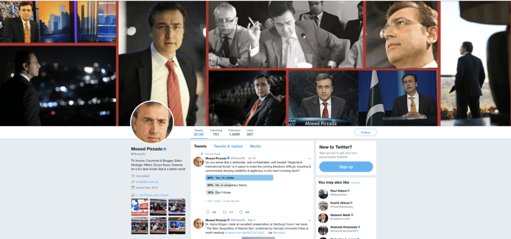 Moeed Pirzada | Twitter